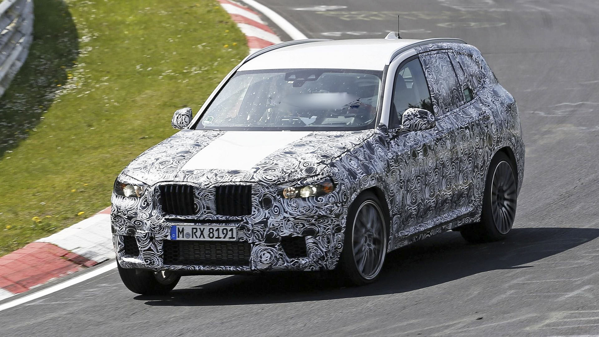 2018 BMW X3 spy shots