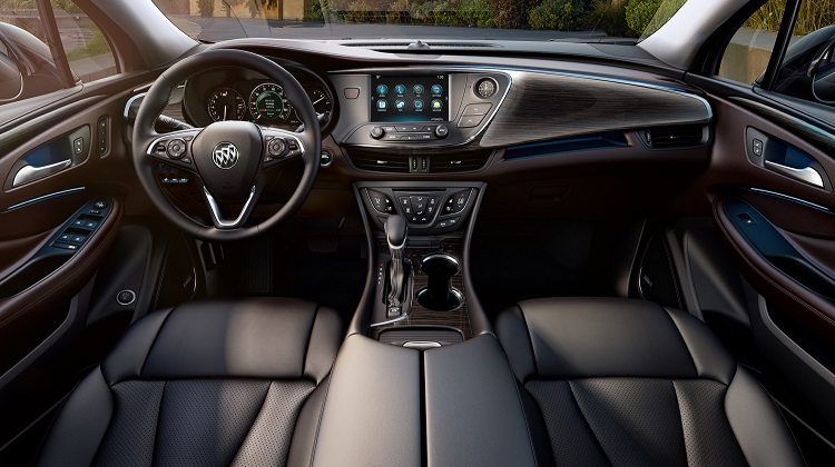 2018 Buick Envision Interior Changes