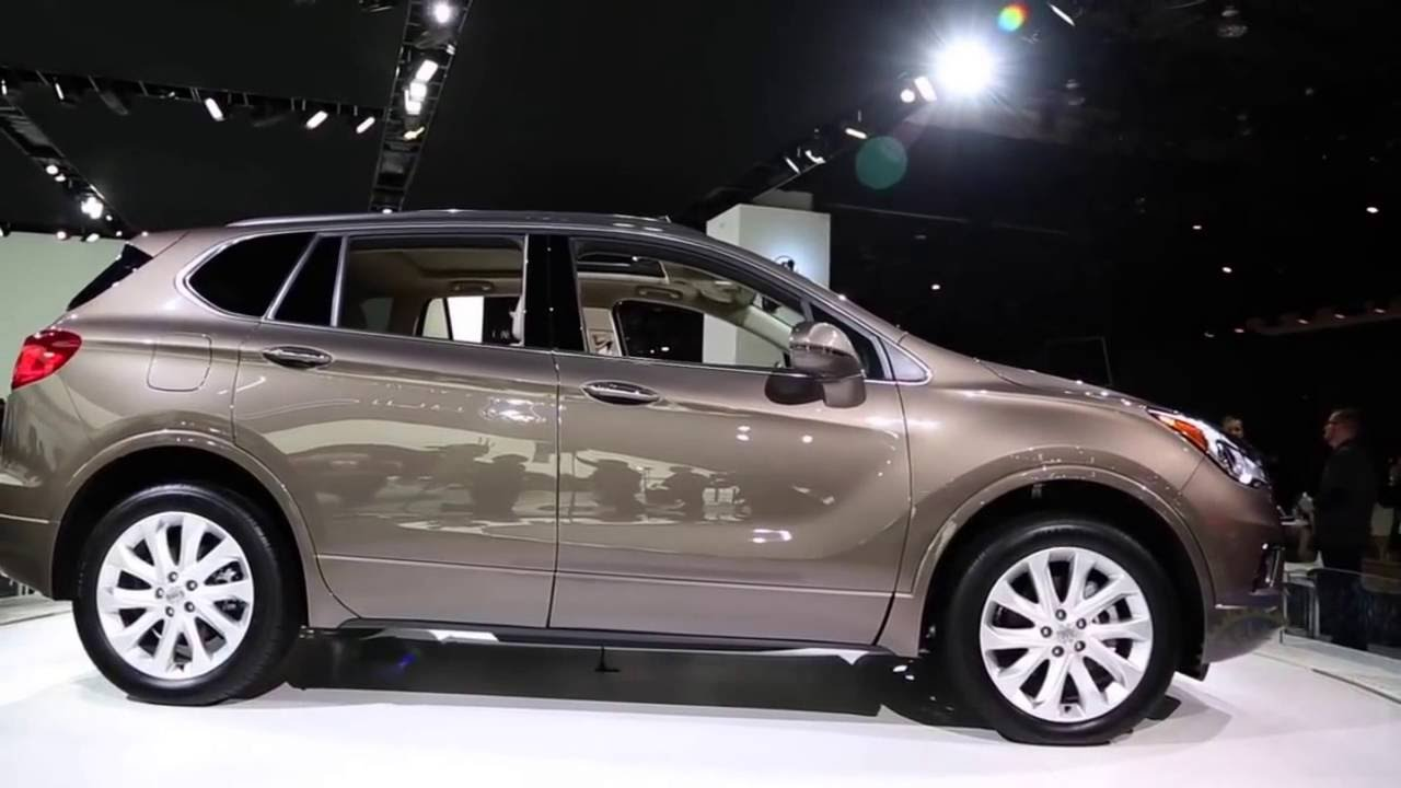 2018 Buick Envision Redesign