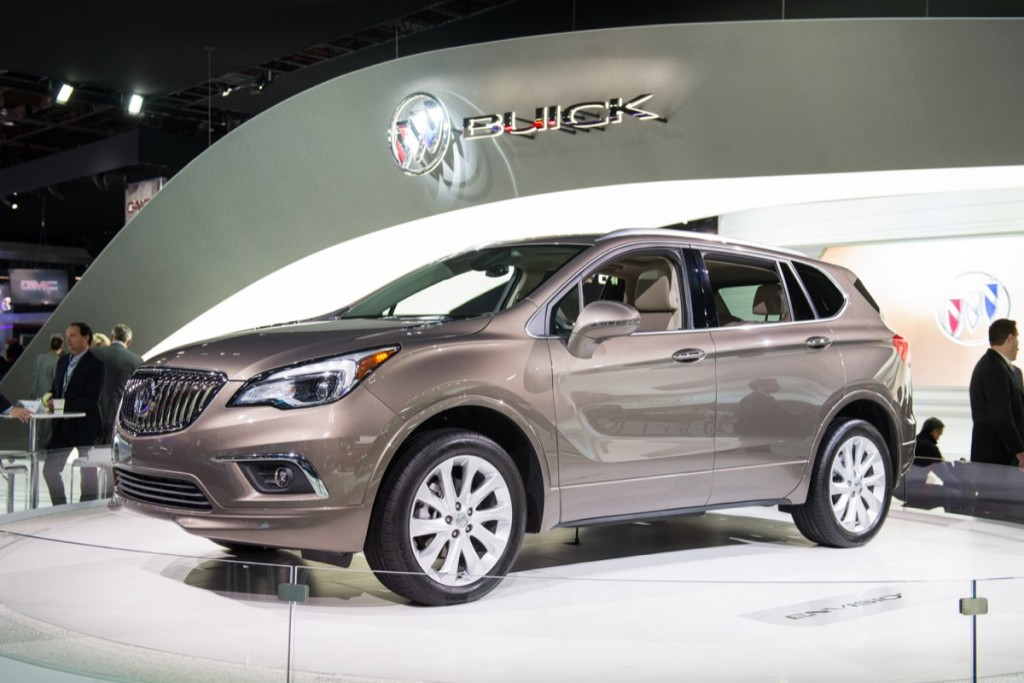 2018 Buick Envision SUV Release Date