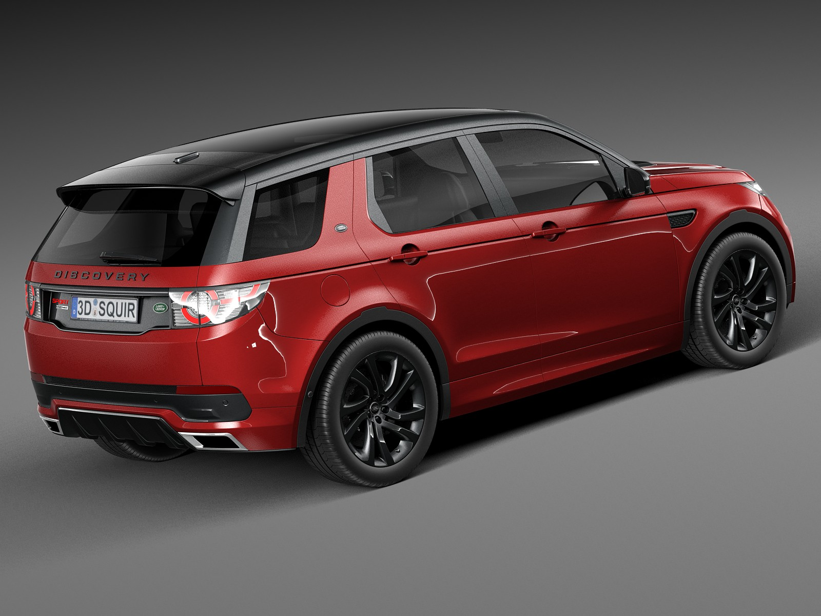 2018 Land Rover Discovery Sport red colors