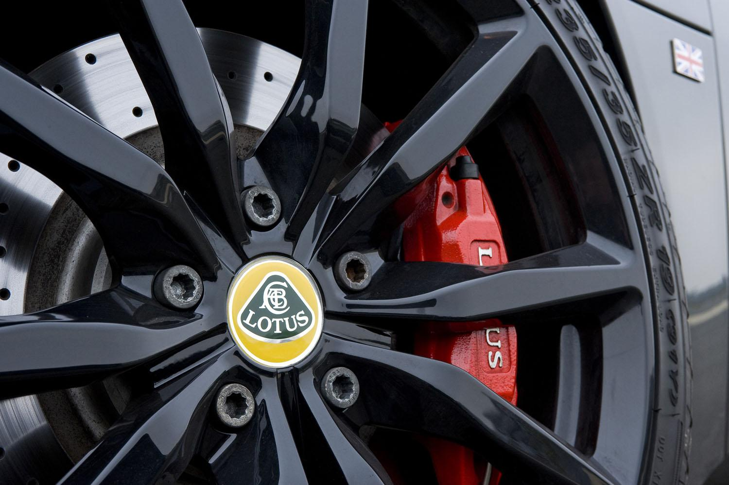 2018 Lotus SUV Concept wheel