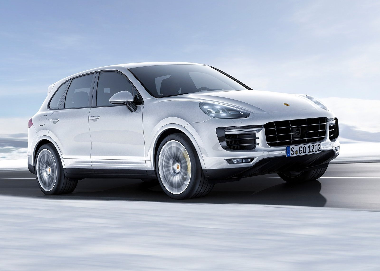 2018 Porsche Cayenne Coupe SUV wallpaper