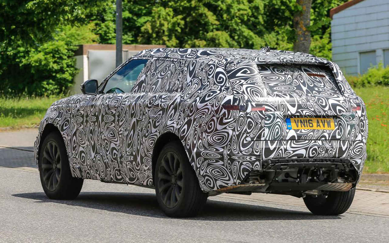 2018 Range Rover Sport coupe changes