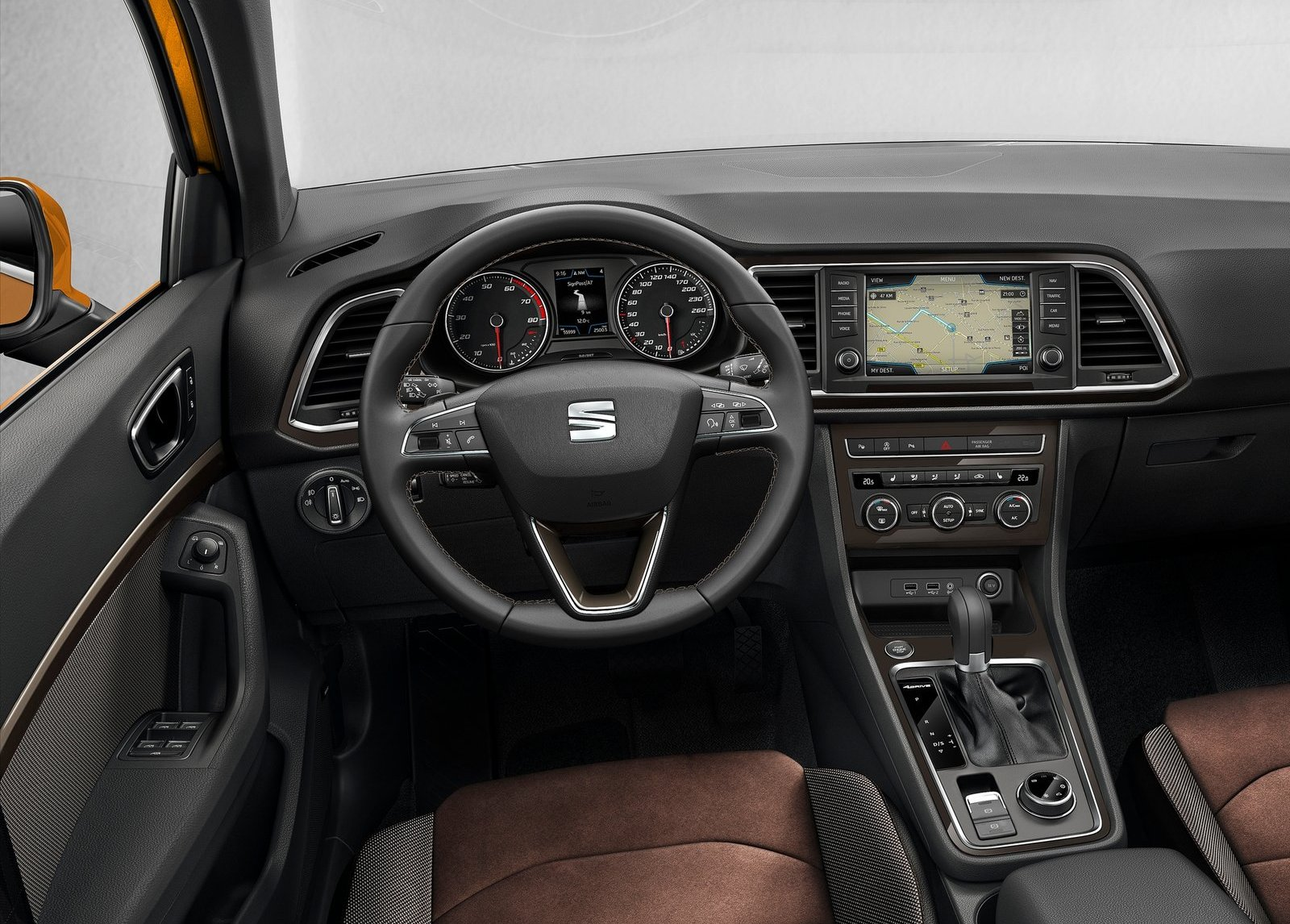 2018 Seat Ateca interior photo
