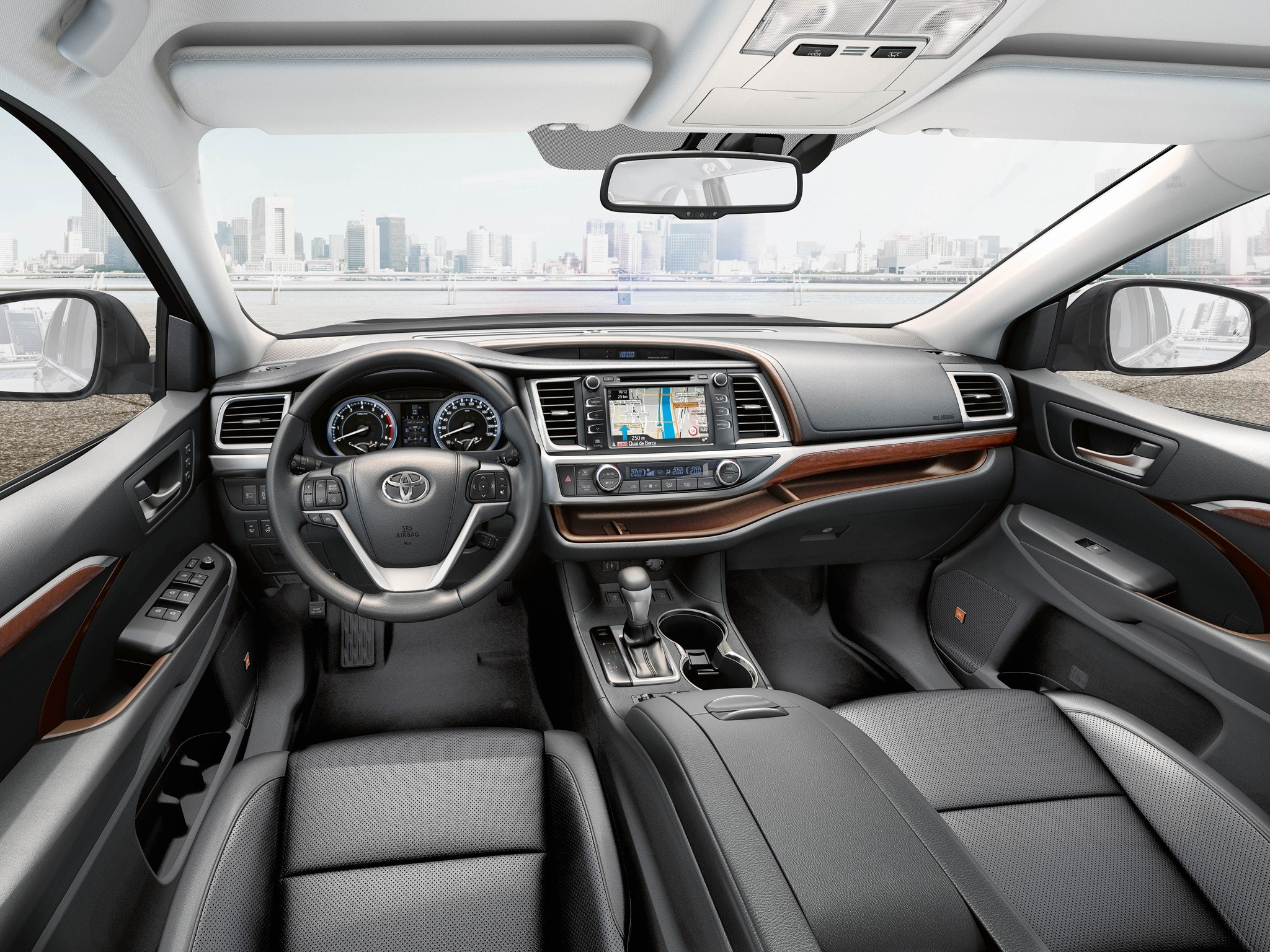 2018 Toyota Highlander interior changes