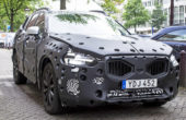 2018 Volvo XC60 spy shoot exterior look