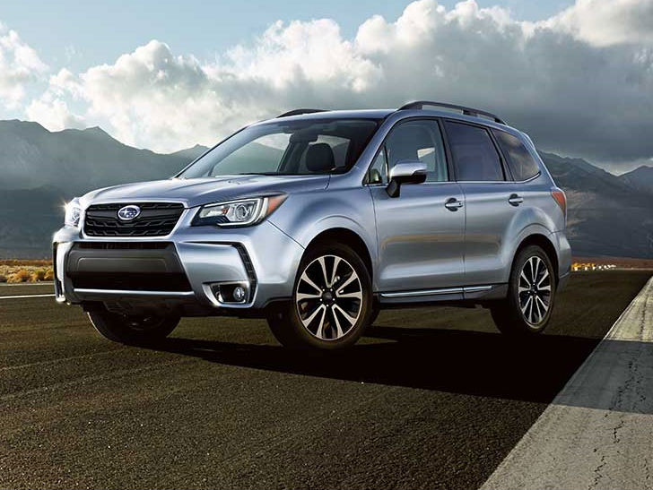 2019 Subaru Forester facelift