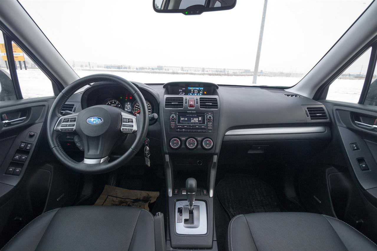 2019 Subaru Forester interior