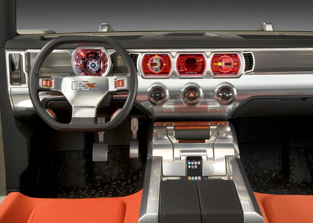 2017 Hummer HX interior look