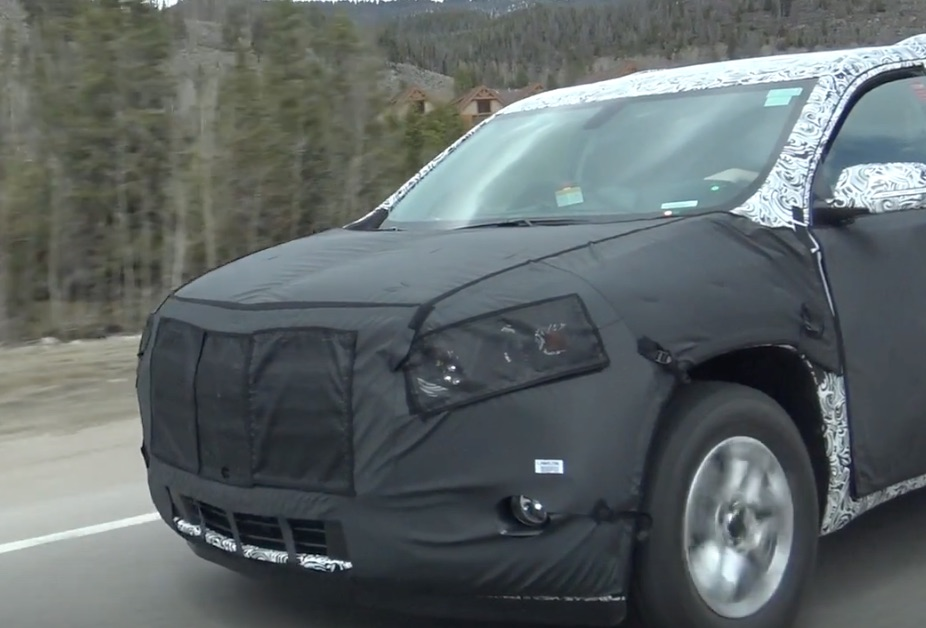 2018 Chevrolet Tahoe SUV Spy Photos