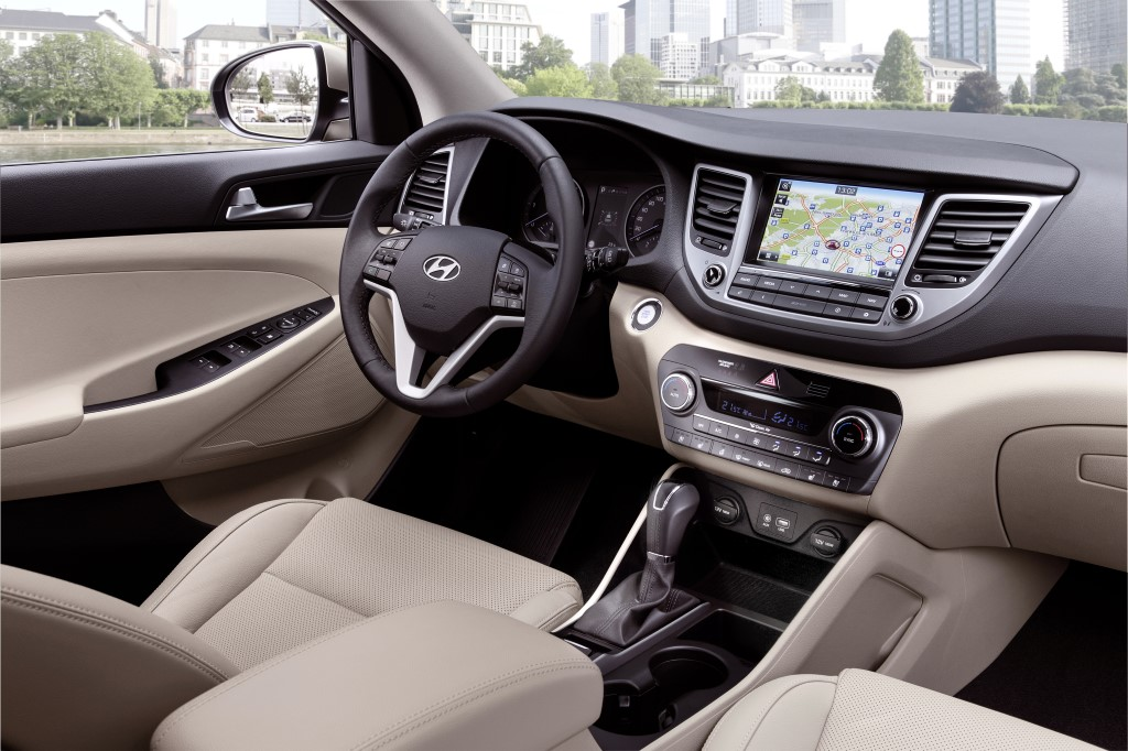 2018 Hyundai Tucson Interior features