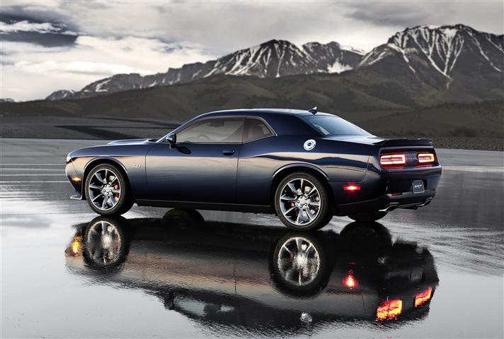 2018 Dodge Challenger new look