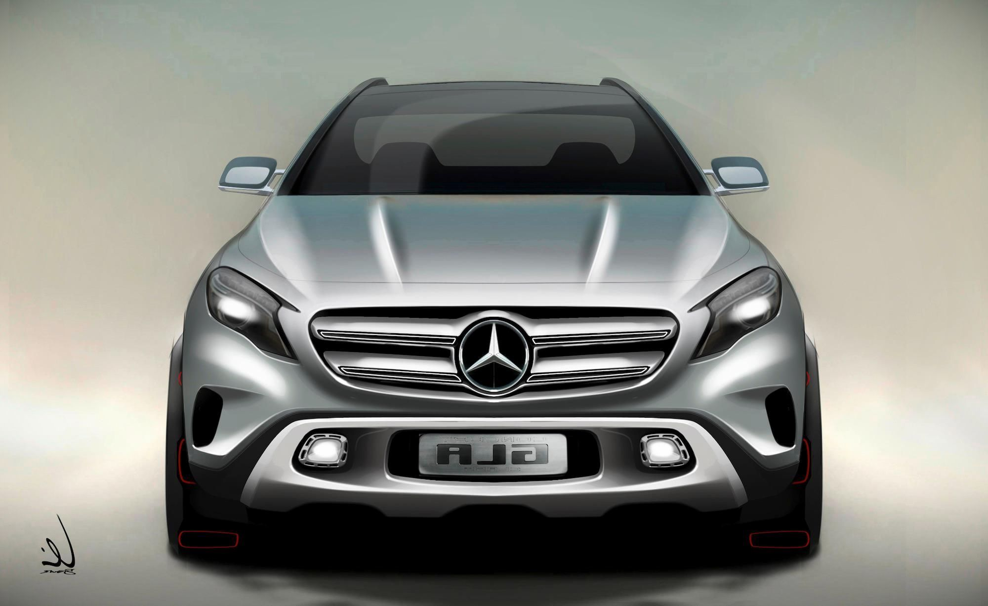 2018 Mercedes Benz GLA redesign pictures