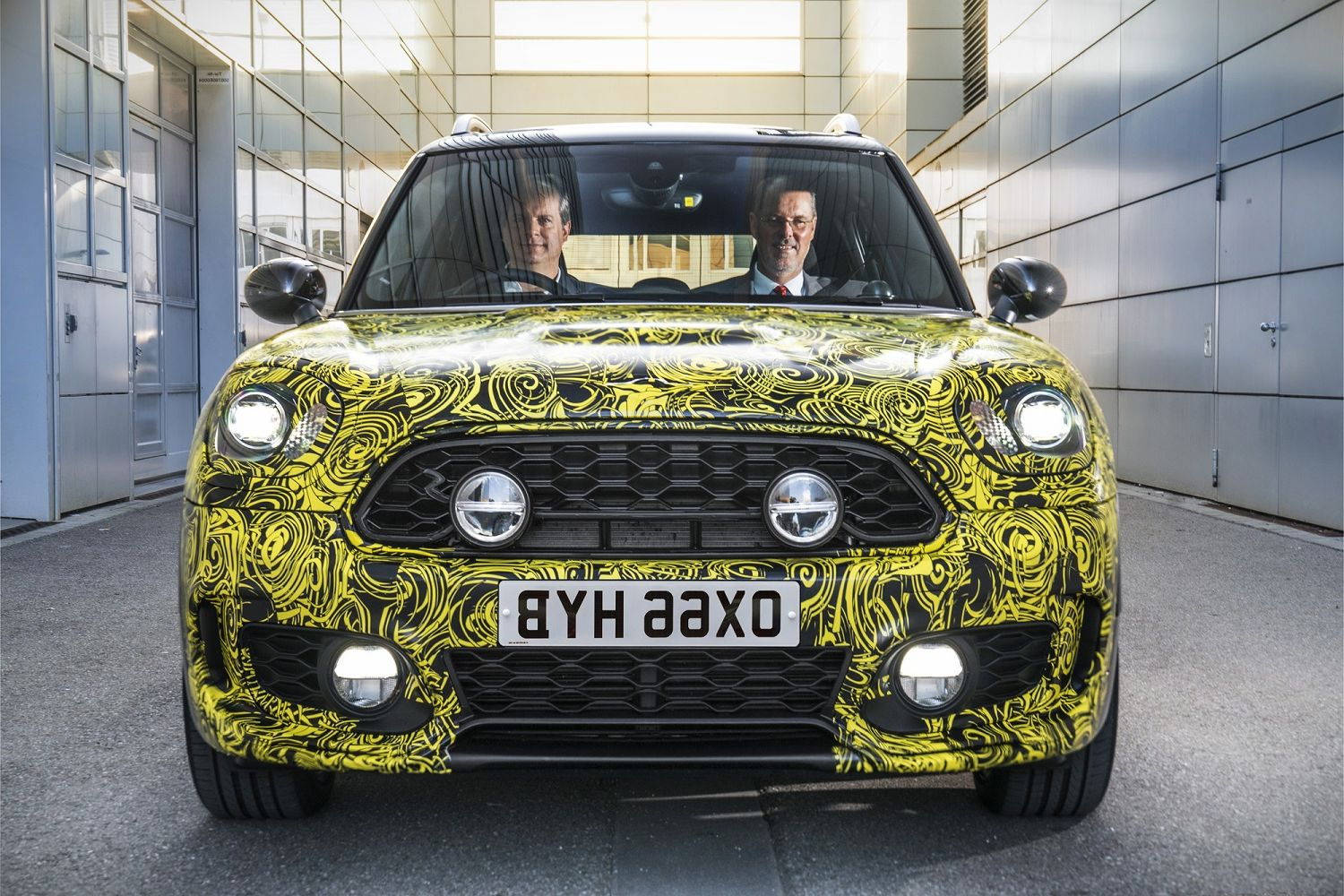 2018 Mini Countryman teaser price
