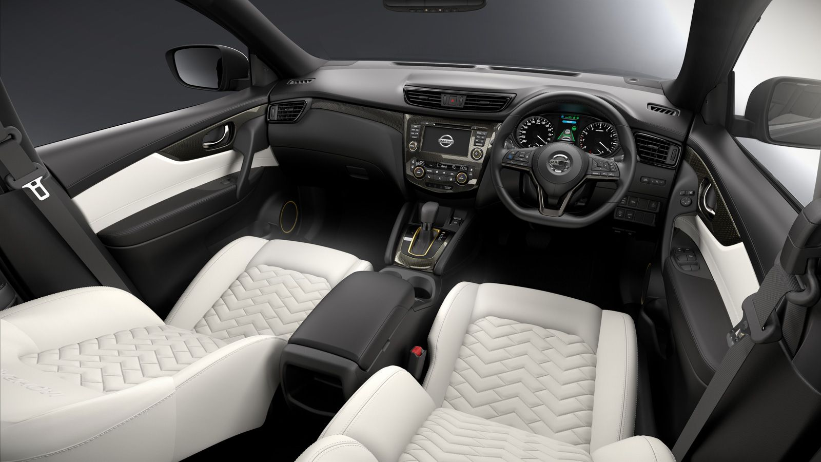 2018 Nissan Qashqai interior changes