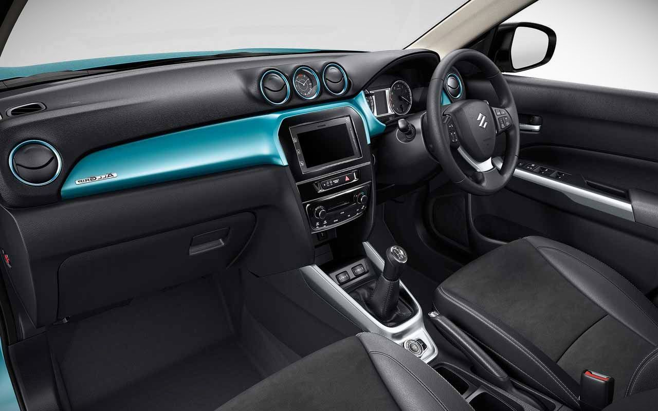 2018 Suzuki Grand Vitara interior