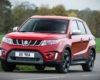 2018 Suzuki Grand Vitara red color