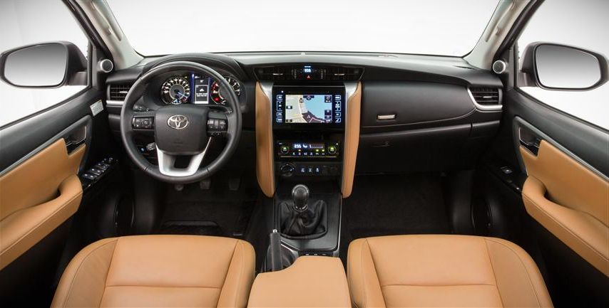 2018 Toyota Fortuner interior
