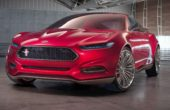 2019 Ford Mustang red color