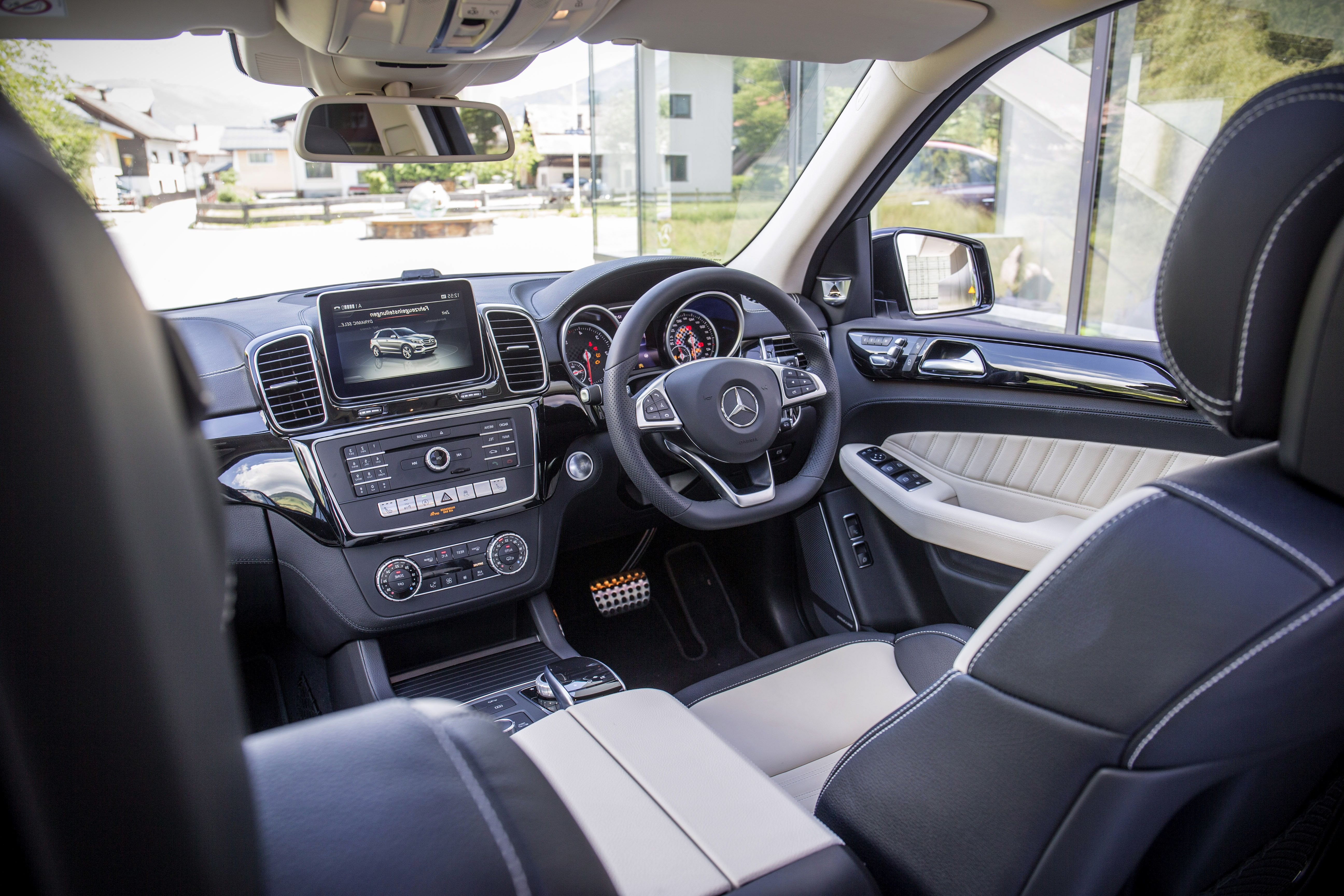 2019 Mercedes Benz GLE interior upgrade
