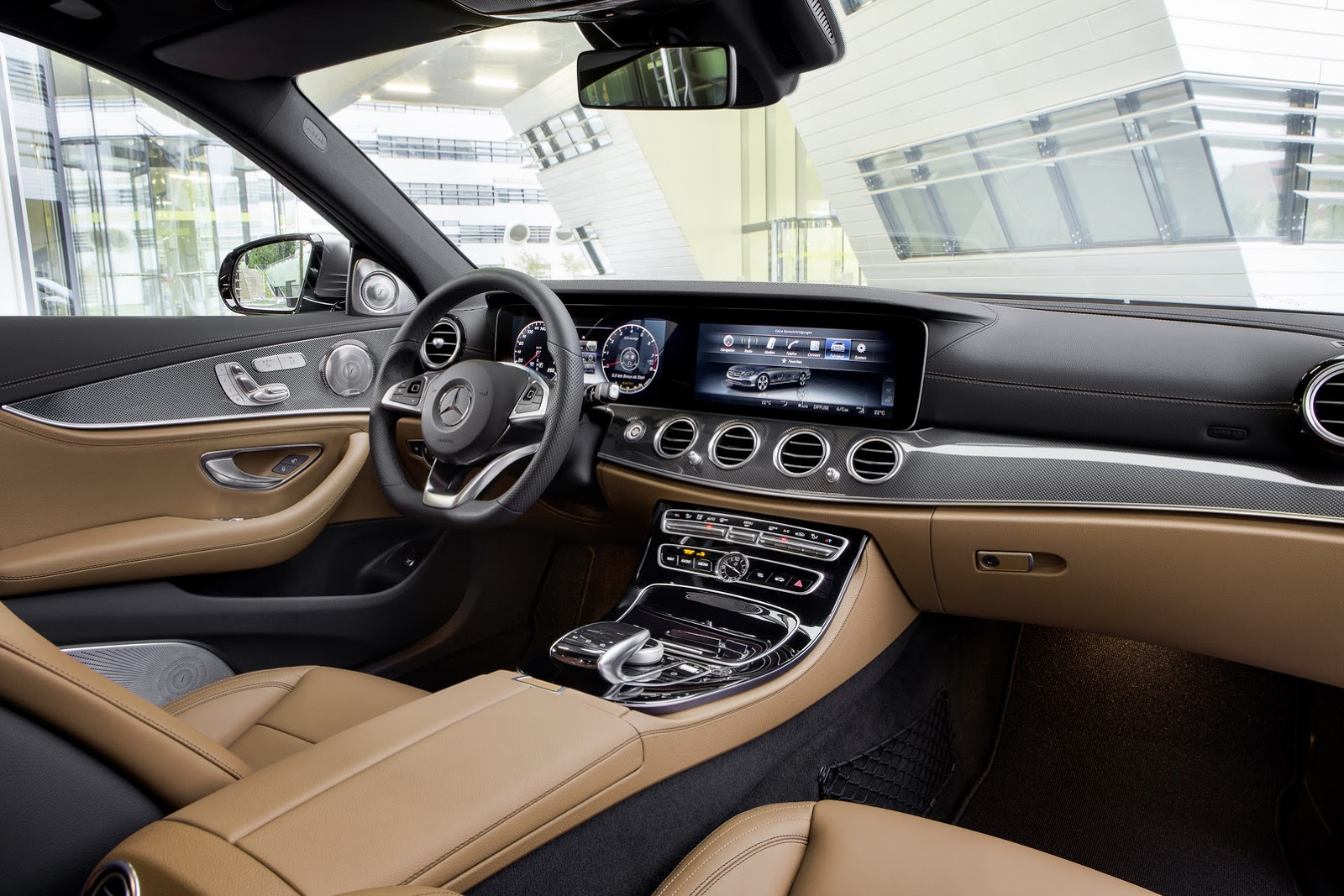 2017 Mercedes E 220d E Class Interior features