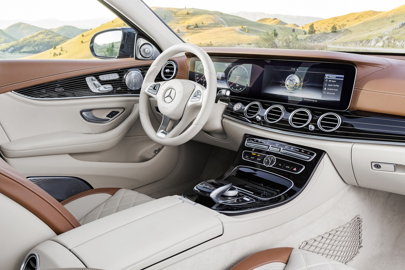 2017 Mercedes E 220d interior changes