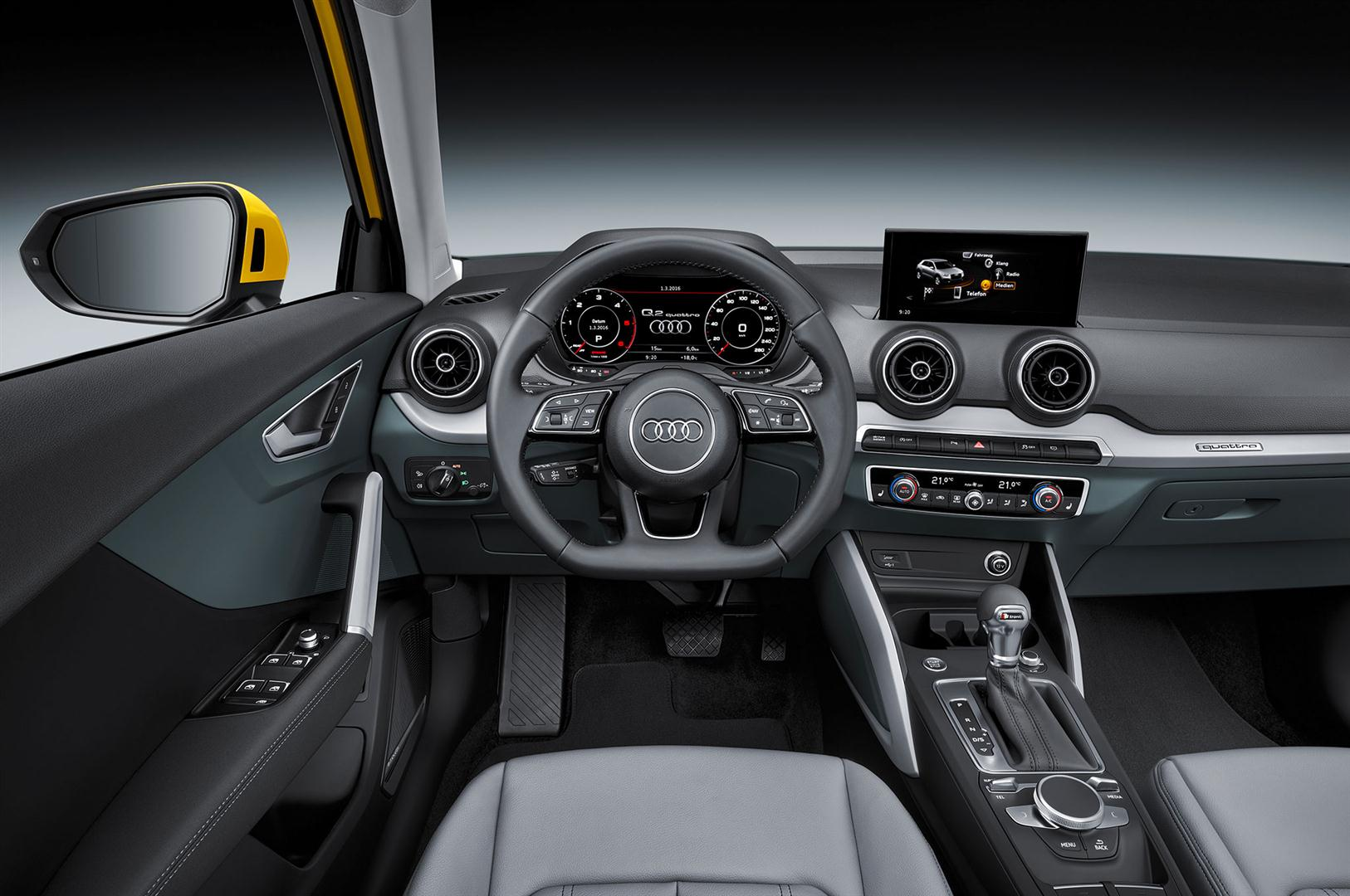 2018 Audi Q2 Interior Changes