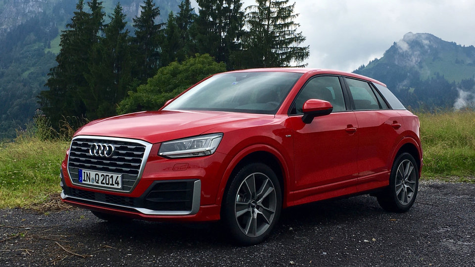 2018 Audi Q2 colors trim
