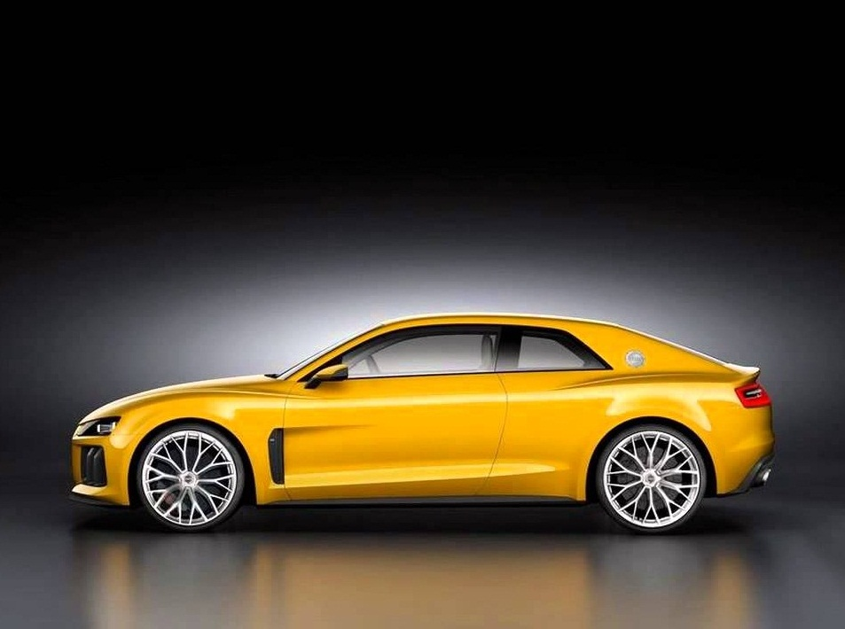 2018 Audi RS5 yellow colors