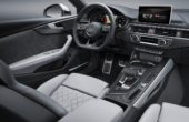 2018 Audi S5 Sportback interior changes