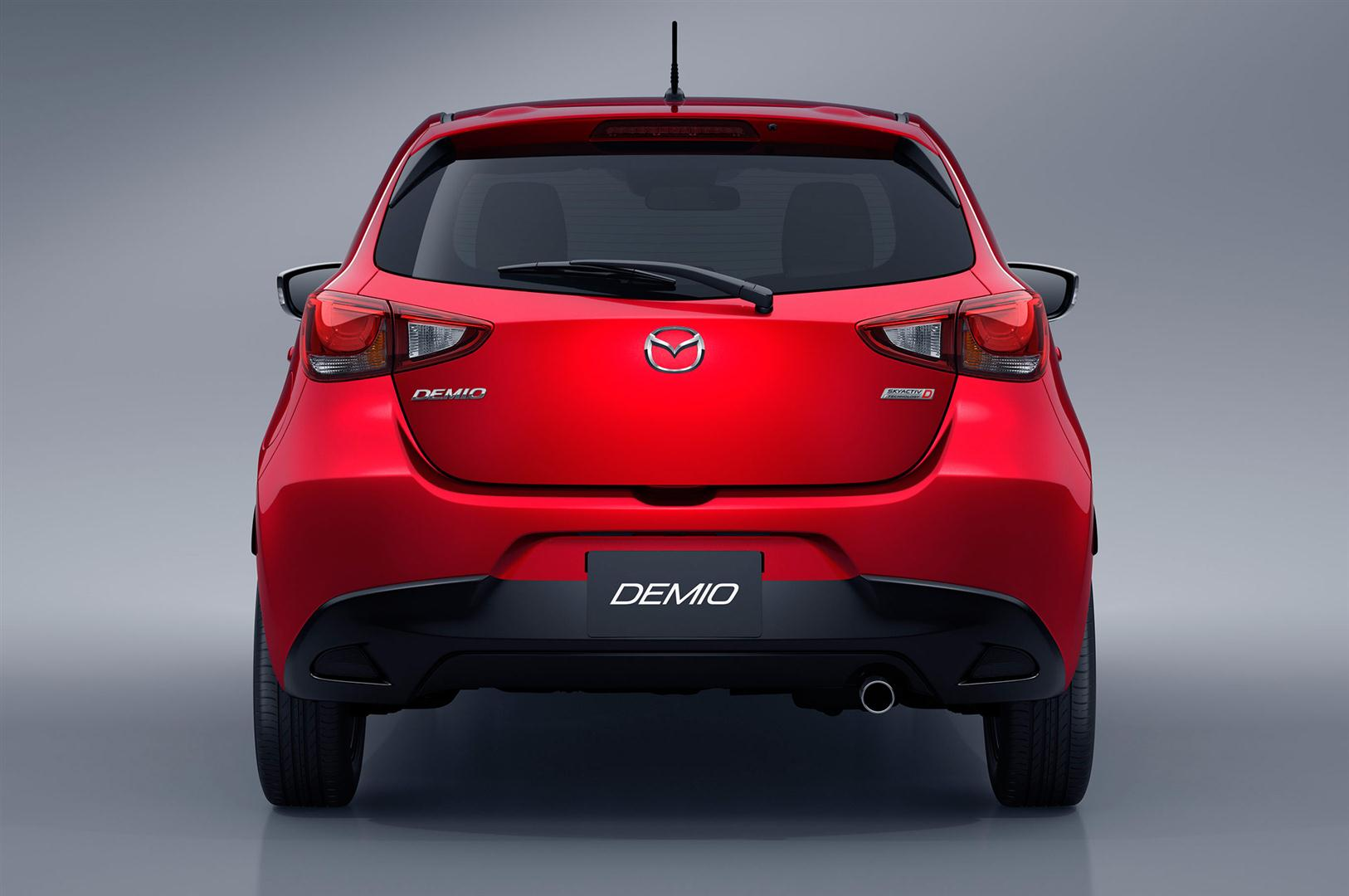 2018 Mazda 2 Redesign changes