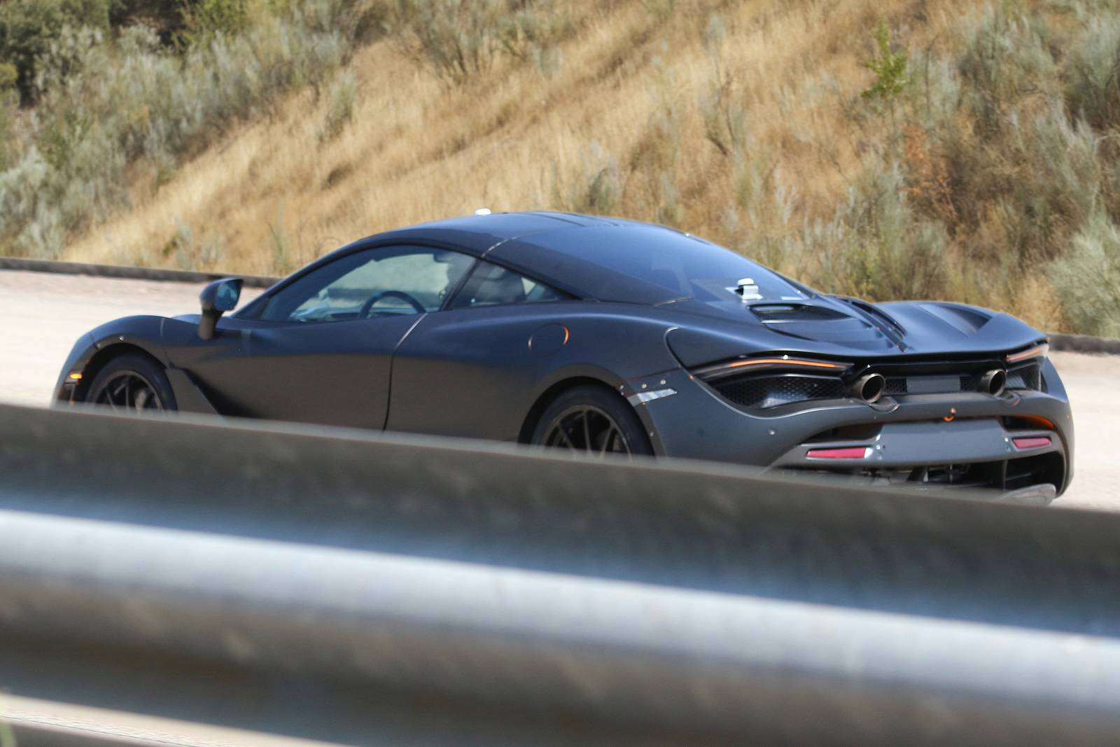 2018 mclaren 720s interior. contemporary interior 2018 mclaren 720s spied for mclaren interior