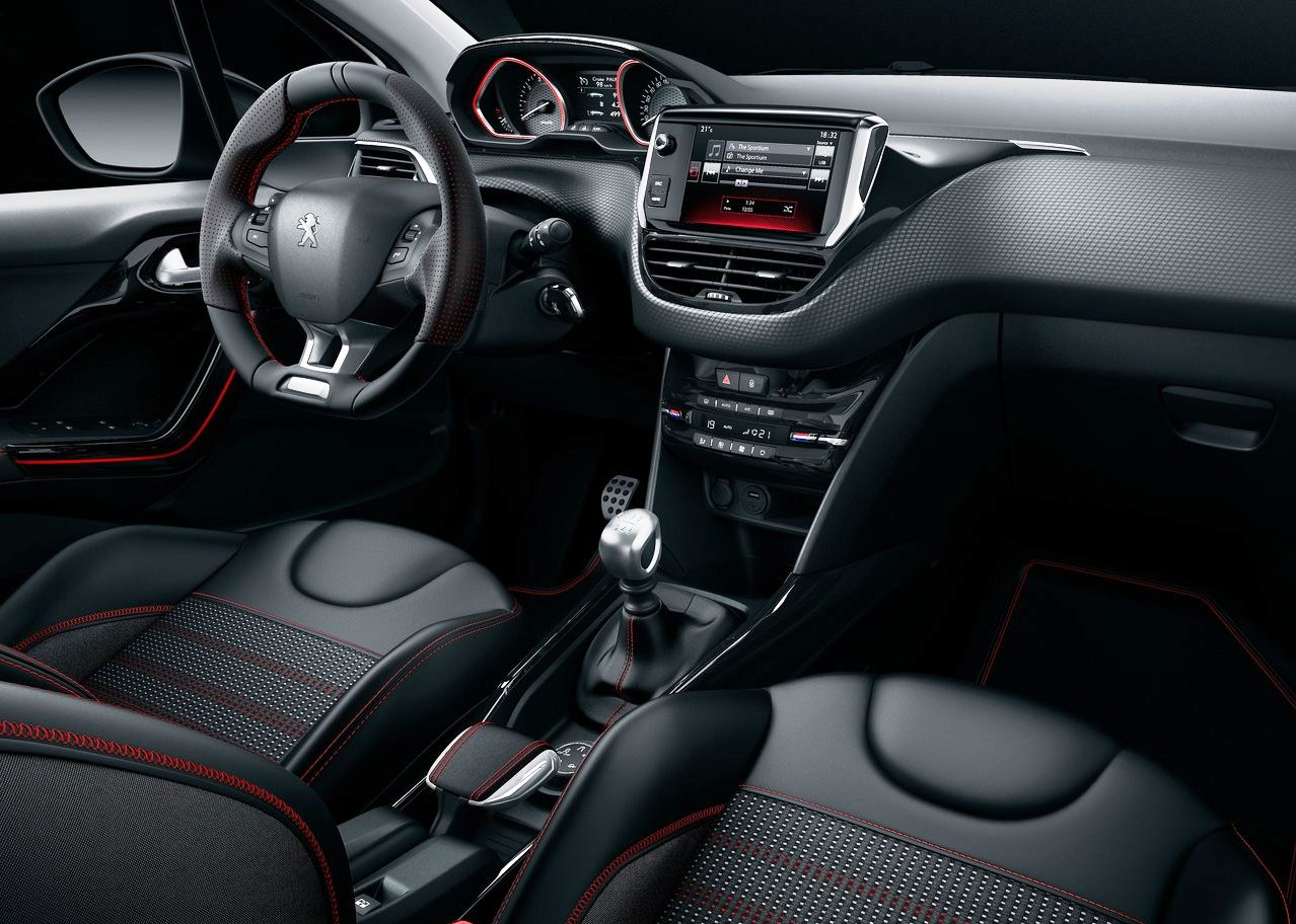 2018 Peugeot 2008 interior changes