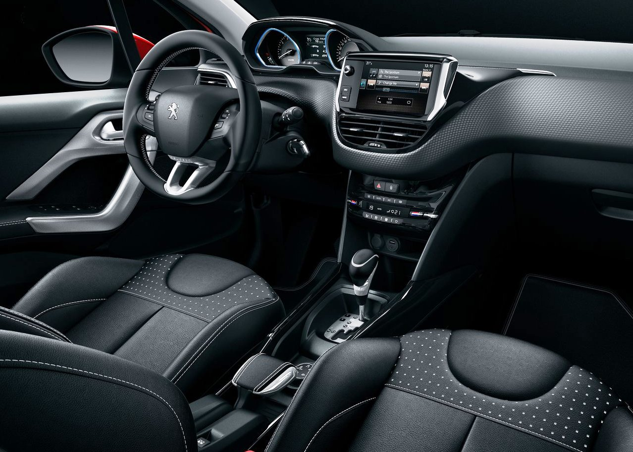 2018 Peugeot 2008 interior update red colors