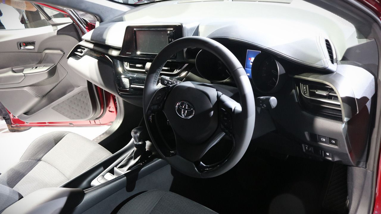 2018 toyota chr interior photos new suv price. Black Bedroom Furniture Sets. Home Design Ideas