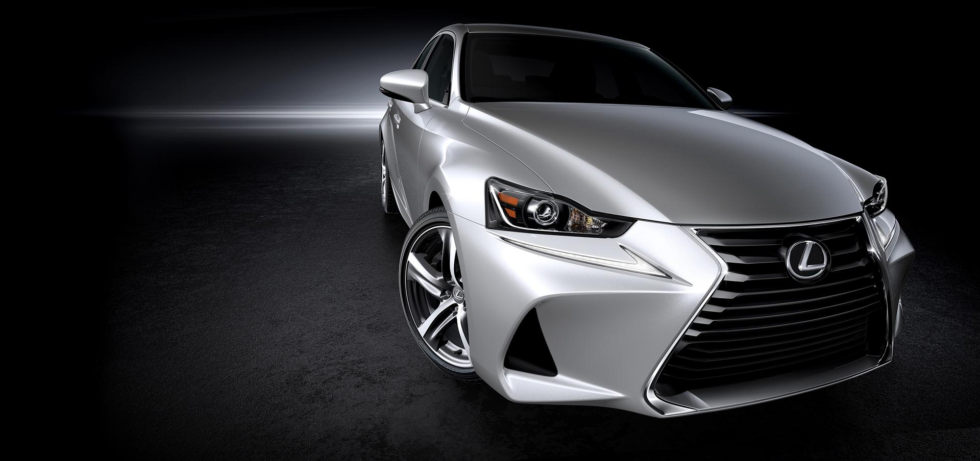 2018 lexus IS 300h facelift redesign