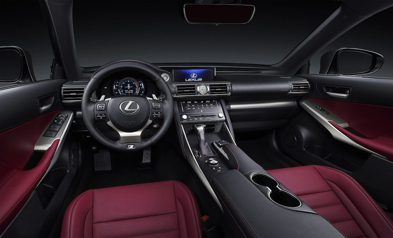 2018 lexus IS 300h interior executive edition