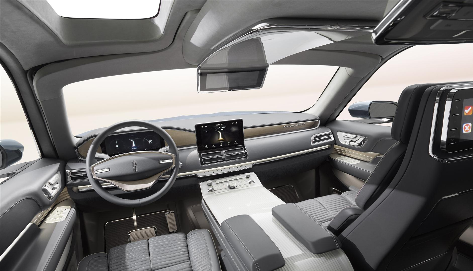 2018 lincoln aviator interior changes