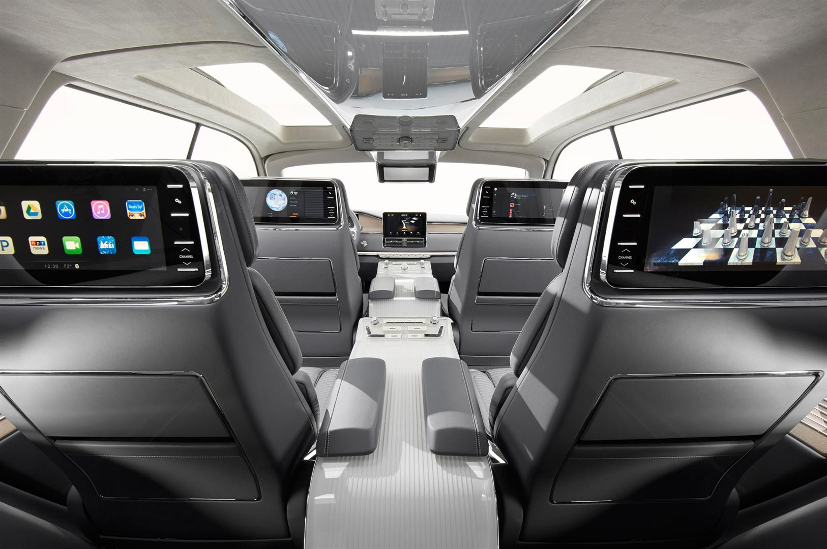 2018 lincoln aviator interior photos
