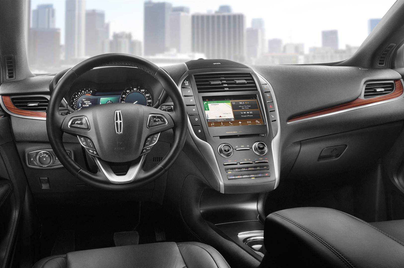 2018 lincoln mkc black label interior, features, dashboard