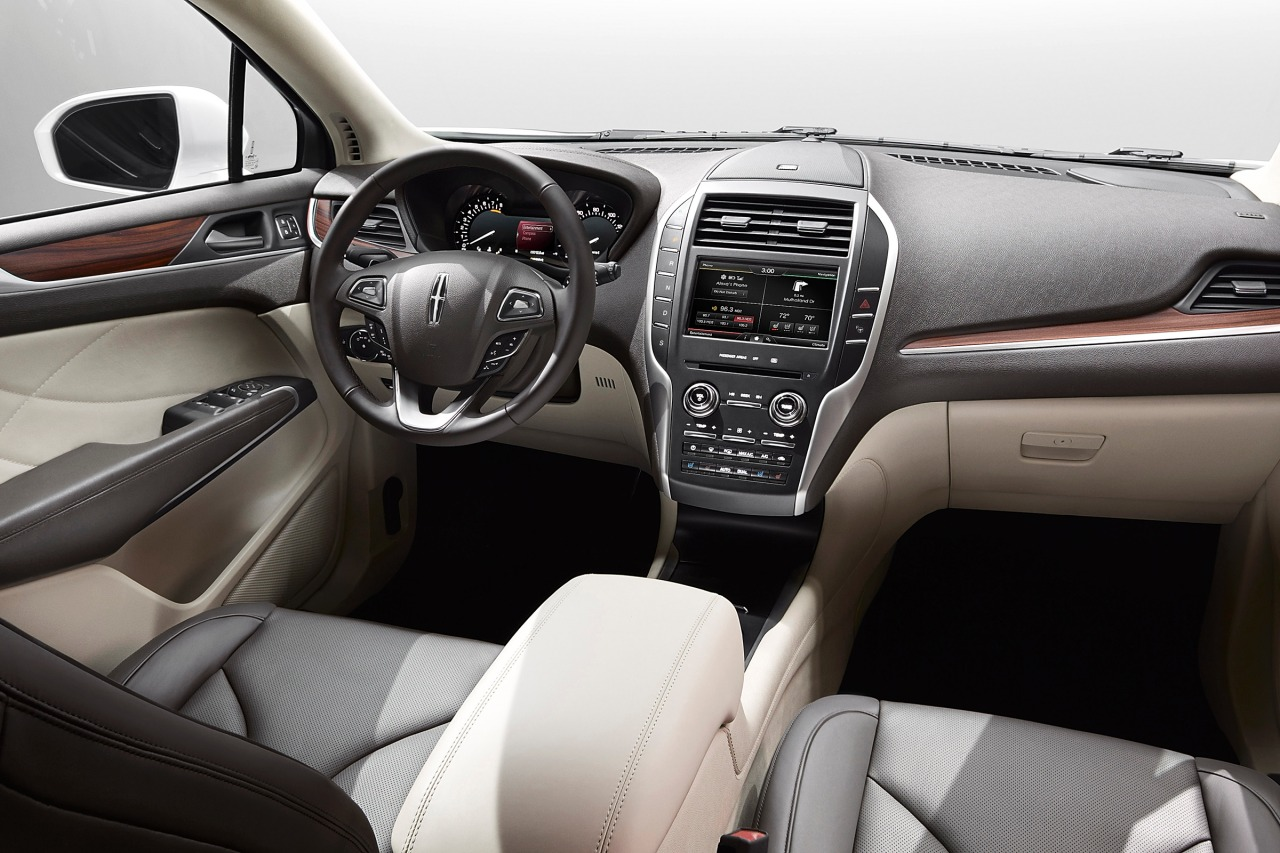 2018 lincoln mkc interior color, leather, awd
