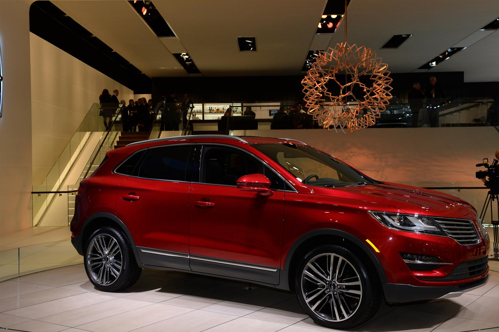 2018 lincoln mkc reserve, engine, red color