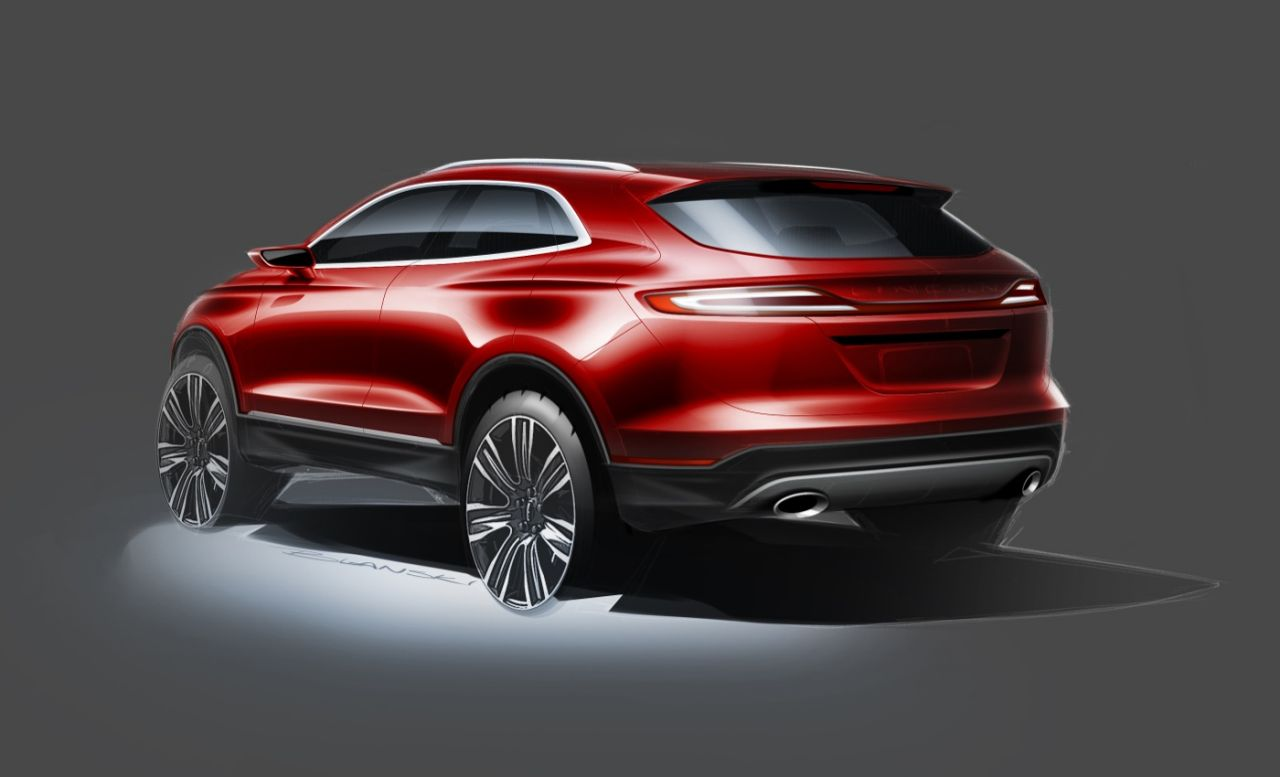2018 lincoln mkc review, Concept