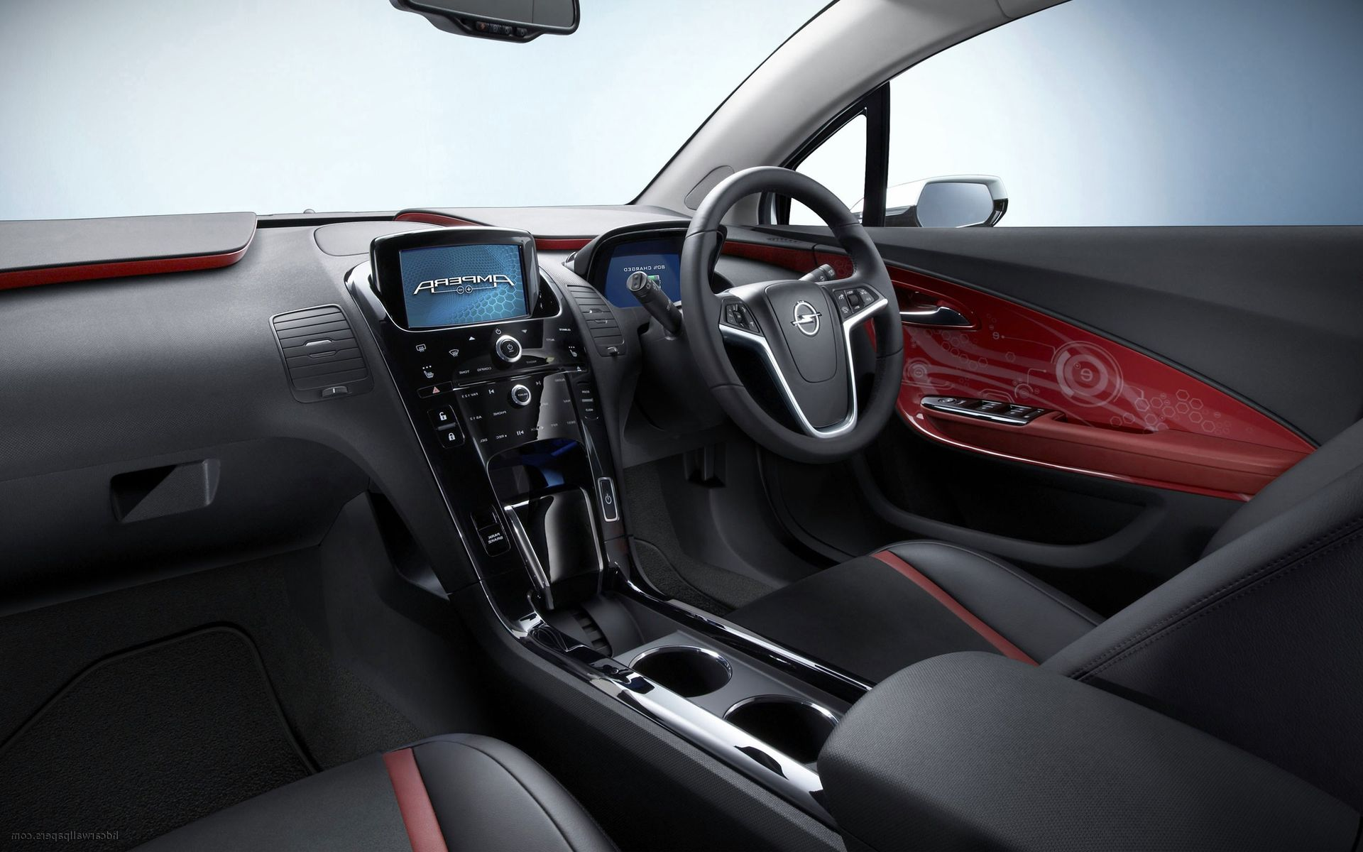 2017 Opel Crossland X interior photo