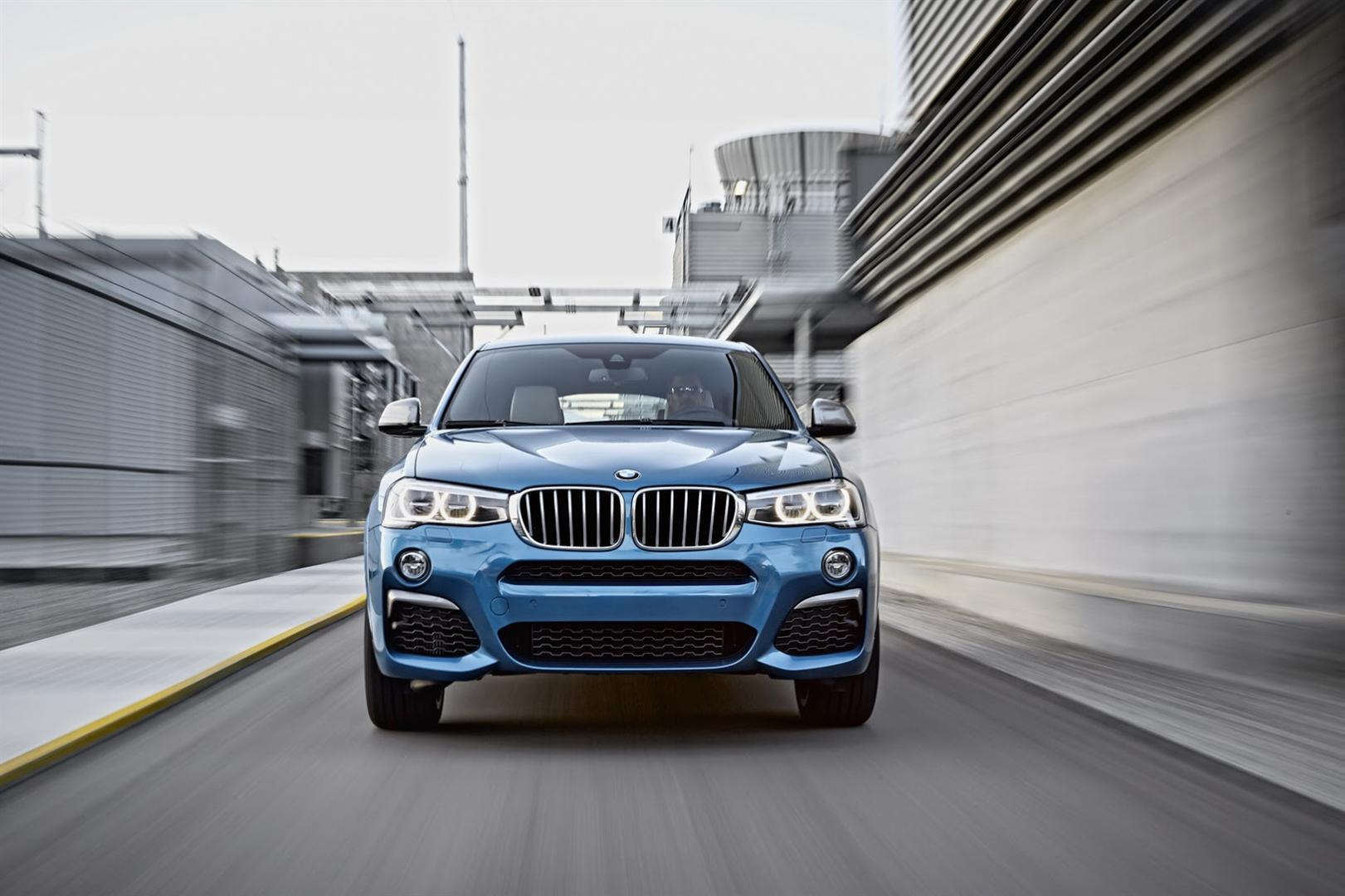 2017 BMW X4 M40i engine