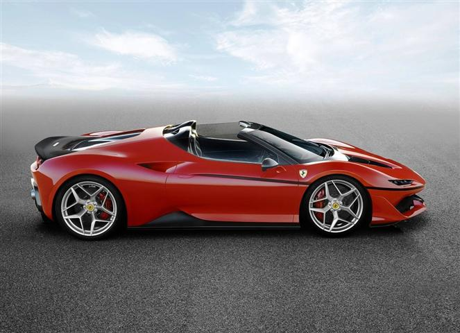 2017 Ferrari J50 Price and Review