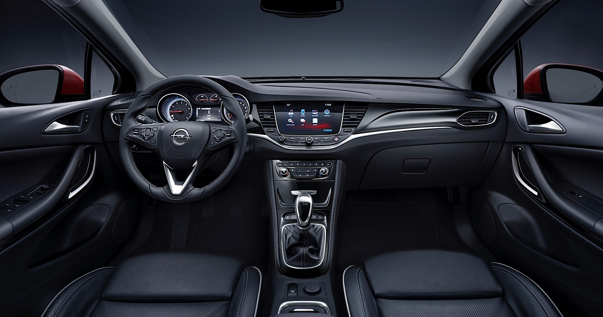 2017 Opel Astra Sports Tourer interior photos