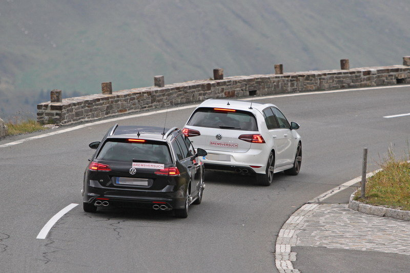 2018 Volkswagen Golf R Rear angle Spy Images