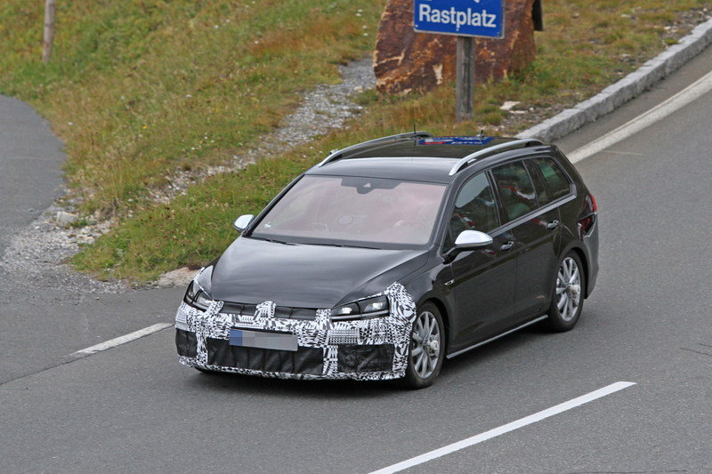 2018 Volkswagen Golf R spy photos HD